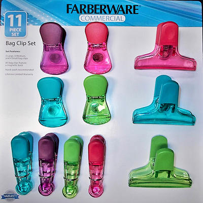 Farberware Commercial 11-Pc. Bag Clip Set
