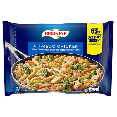 Birds Eye Alfredo Chicken Skillet Meal, 63 oz.