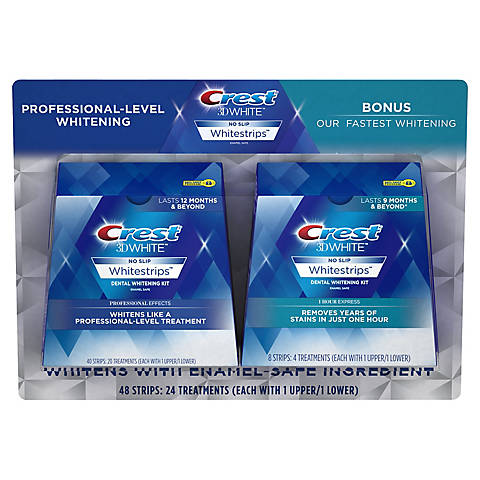 Crest 3d White Whitestrips Professional Effects Bjs Wholesale Club