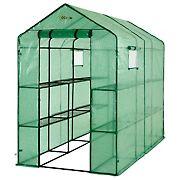 Ogrow Heavy-Duty 2-Tier 12-Shelf Portable Lawn and Garden Greenhouse