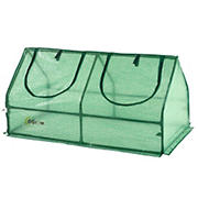 Ogrow Compact Outdoor Seed Starter Greenhouse Cloche with PE Protection Cover
