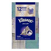 Kleenex Ultra Soft & Strong Facial Tissues, 900 sheets