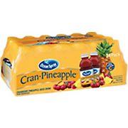 Ocean Spray Cran-Pineapple Juice, 24 pk./10 oz.