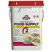 Augason Farms Emergency Food Supply Kit, 2 Weeks, 1 Person
