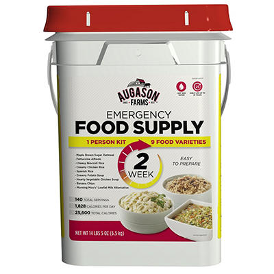 Augason Farms Emergency Food Supply Kit, 2 Weeks, 1 Person