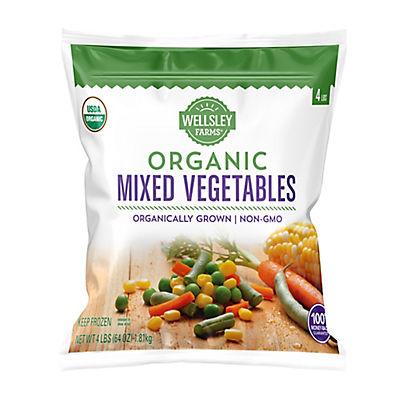 Wellsley Farms Organic Mixed Vegetables, 4 lbs.