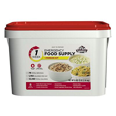 Augason Farms Emergency Food Supply Kit, 1 Week, 1 Person