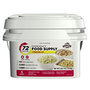 Augason Farms Emergency Food Supply Kit, 72 Hours, 1 Person