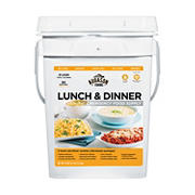 Augason Farms Lunch & Dinner Emergency Food Supply, 4 gal.
