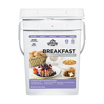 Augason Farms Breakfast Emergency Food Supply, 4 gal.