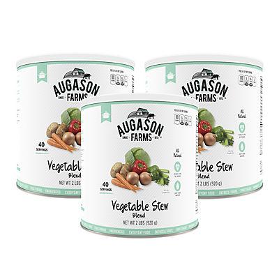 Augason Farms Vegetable Stew Blend #10 Can, 3 pk./2 lbs.