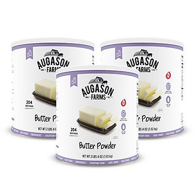 Augason Farms Butter Powder #10 Can, 3 pk./36 oz.