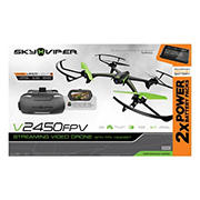 Sky Viper Streaming Video Drone with FPV Goggles and Bonus Battery