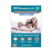 Sealy Posturepedic Standard/Queen-Size Zippered Pillow Protector, 4 pk.