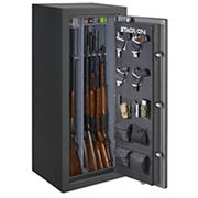 Stack-On Total Defense 24-Gun Convertible Executive Safe with Electronic Lock - Gray Pebble