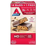 Atkins Chocolate Peanut Butter Bar, 15 pk./2.12 oz.