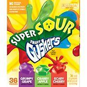 Betty Crocker Super Sour Fruit Gushers, 36 ct.
