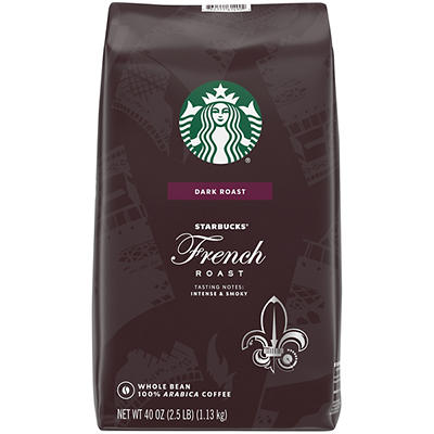 Starbucks Whole Bean French Roast Coffee, 2.5 lbs.