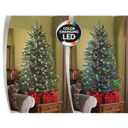 Sylvania 4.5' Color Changing LED Tree