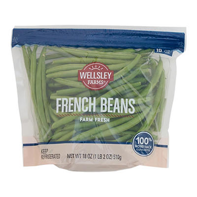 Wellsley Farms French Beans, 18 oz.
