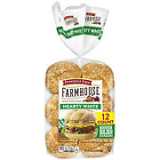 Pepperidge Farm House Hearty White Hamburger Buns, 12 pk.