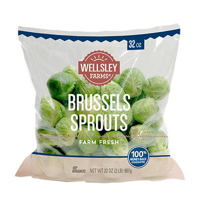 Wellsley Farms Brussels Sprouts, 2 lbs.