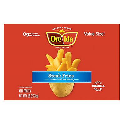 Ore-Ida Steak Fries, 6 lbs.