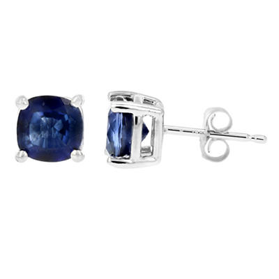 Amairah 1.80 ct. t.w. Cushion-Cut Created Blue Sapphire Earrings in 14