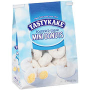 Tastykake Powdered Sugar Mini Donuts, 10 oz.