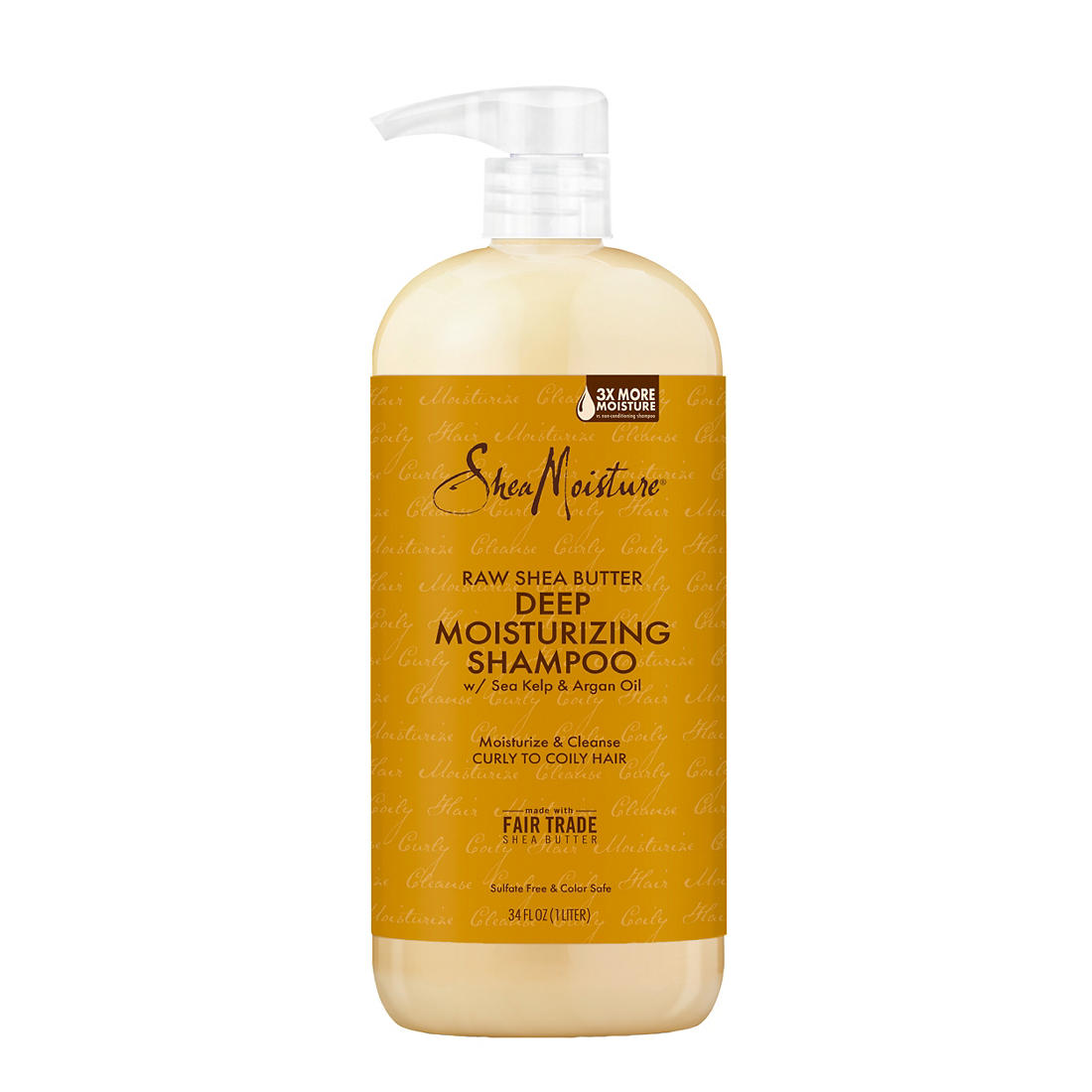 photograph relating to Shea Moisture Printable Coupon known as SheaMoisture Uncooked Shea Butter Dampness Retention Shampoo, 34 oz.