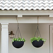 Keter Hanging Sphere Planters, 2 pk.