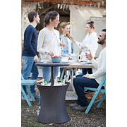 Keter Pacific Cool Outdoor Bar - Brown