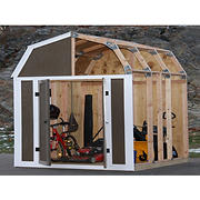 Shelter-It EZ Framer 7' x 8' Shed Framing Kit, Barn Style