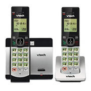 VTech DECT 6.0 2-Handset Cordless Phone with Caller ID