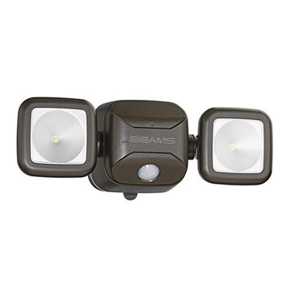 Mr. Beams Motion-Activated High-Performance Security Light - Brown