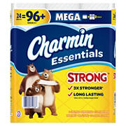 Charmin Essentials Strong 451-Sheet 1-Ply Toilet Paper, 24 pk.