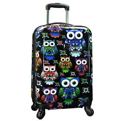 """Traveler's Choice Owl 22"""" Hardside Spinner"""