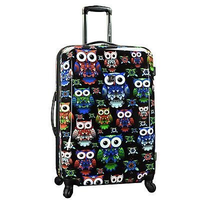 """Traveler's Choice Owl 29"""" Hardside Expandable Spinner"""