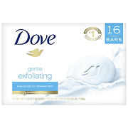 Dove Gentle Exfoliating Beauty Bar, 16 ct./4 oz.