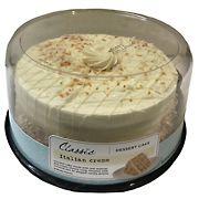 """Dawn 8"""" Italian Creme Cake"""
