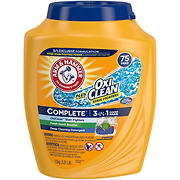 Arm & Hammer Oxi Clean Detergent, 75 ct.