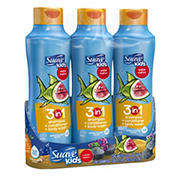 Suave Kids Watermelon 3 in 1 Shampoo, Conditioner and Body Wash, 3 pk./22.5 fl. oz.