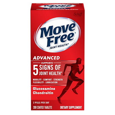 Move Free Joint Health Advanced Glucosamine Chondroitin Dietary Supple
