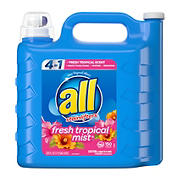 all Fresh Tropical Mist with Stainlifters, 225 fl. oz.