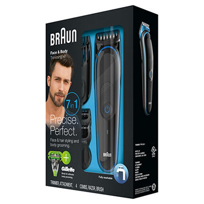 Braun MGK3040 Multi Grooming Kit with Bonus Gillette Body Razor