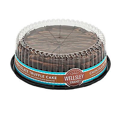 "Wellsley Farms Chocolate Truffle Cake, 10"""