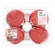 Wellsley Farms 85% Ground Beef Patties 12 ct., 3.75 - 4.5 lbs.