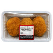 DiLuigi Foods Breaded Chicken Breast Cordon Bleu - Price Per Pound