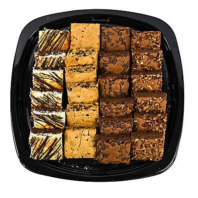 Wellsley Farms Gourmet Brownie Platter, 6 lbs.