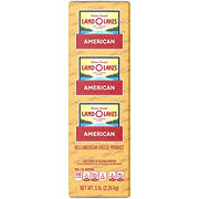 Land O'Lakes Presliced Deli American Cheese - Yellow, 0.75-1.25 lb Standard Cut